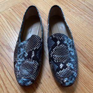 Banana Republic Snake Skin Loafers Size 10